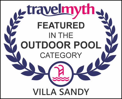 travelmyth in-the-world outdoor pool villa-sandy-sivota
