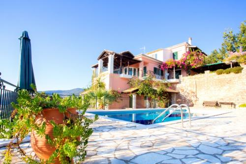 Villa Sandy-Sivota-Epirus-Greece-Pool-Hotel
